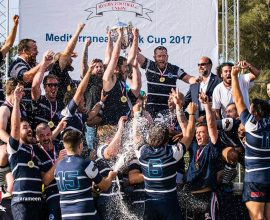 Swieqi Overseas RUFC Win the Mediterranean Bank Rugby Cup 2017 in Malta