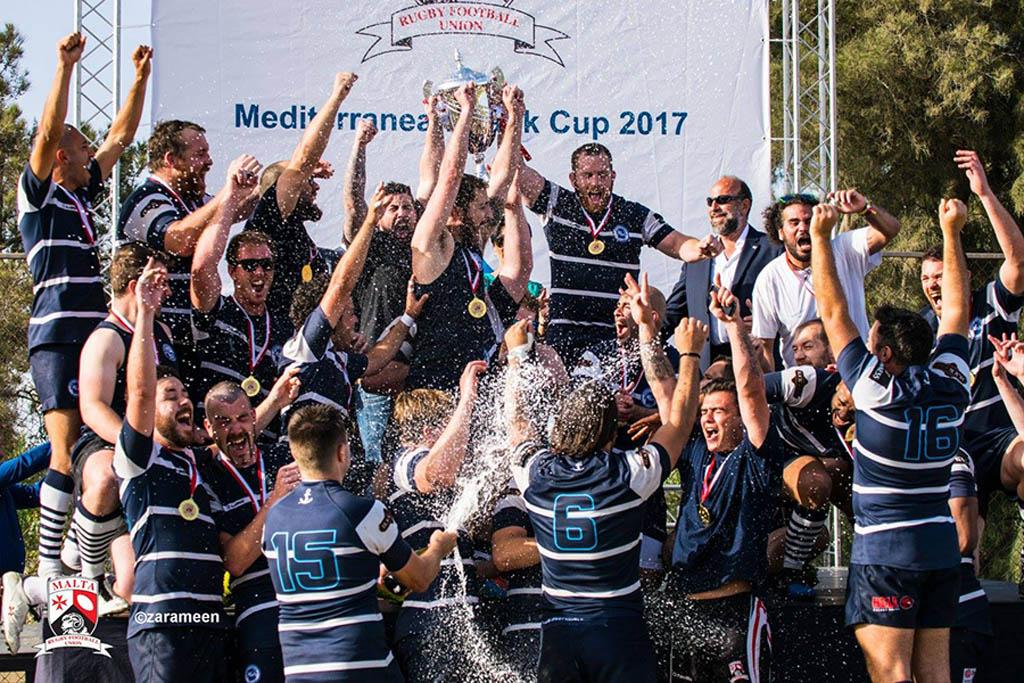 Swieqi Overseas RUFC Win the Mediterranean Bank Rugby Cup 2017 in Malta